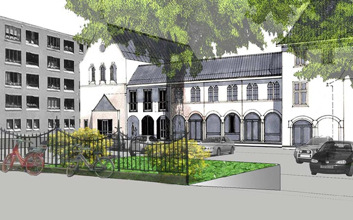 Sociale woningbouw Van Imhoffstraat Utrecht