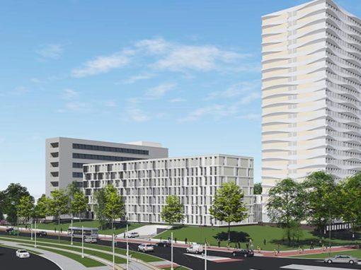 Gebiedsontwikkeling voormalig ziekenhuislocatie Oudenrijn Utrecht 'Up Living'