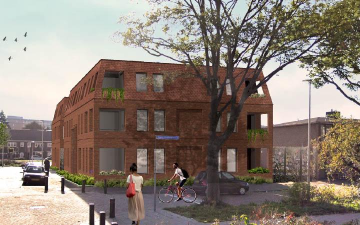 Sloop- Nieuwbouw sociale woningbouw Muinck de Keizerlaan