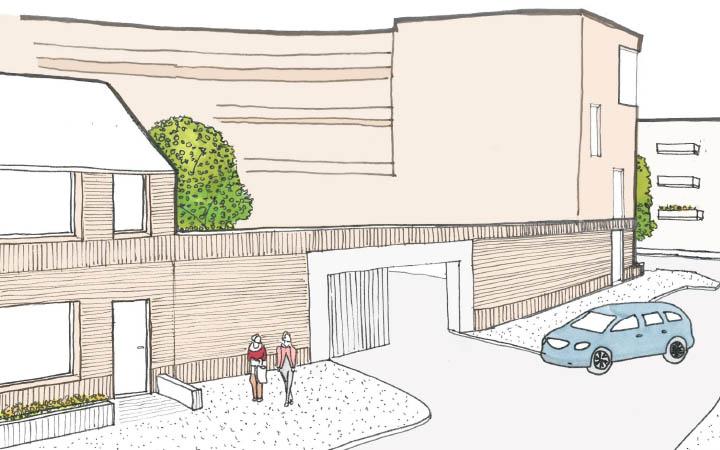 Sloop- Nieuwbouw socialewoningbouw Omloop-Laan van Chartroise Utrecht